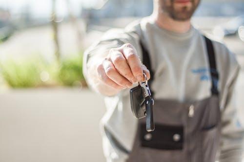 service jobs key handover