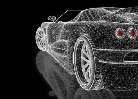 automotive 3d render