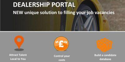 Dealership portal mailshot